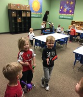 Dance Party with Ms. Julie's class