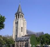 כרטיס ביקור על כנסיית סן-ז'רמן