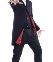 El Pantalon negro de lana