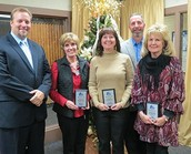 December Teacher and Staff Member of the Month