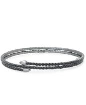 Radiance Coil Bracelet (Hematite)