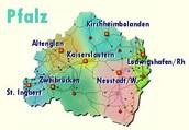 Sie finden uns überall in der Pfalz.