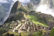 The Machu Picchu ruins