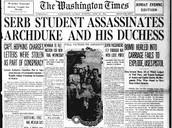 June 1914- Assassination Of Franz Ferdinand