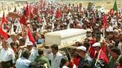 Cesar Chavez's death