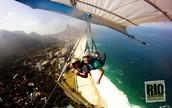 Go hang gliding in Rio de Janeiro, Brazil