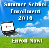 Summer School enrollment is OPEN!