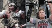 US Marine Gunnery Sgt Brian Meyer Afghanistan - 2011