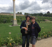 Berlin, Germany palace gardens