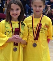 Maddy and Kahla: Medalists in Mystery Powders