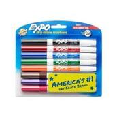 Fine Tip Dry Erase Markers