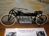 Gas Powered Motorcycle