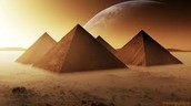 Do you know why the pyramids were built in a triangle shape?