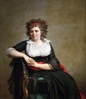 Ritratto della Marchesa d'Orvilliers, David, 1790