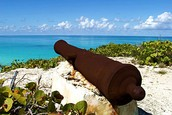 Cannon found in the bahamas