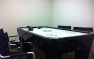 Hockey table conference room