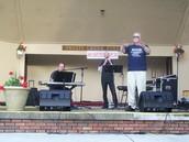 Concert in the Park, Pajtas Ampitheater in Swartz Creek