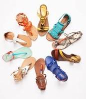 Summer fun sandals