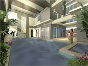 amenities: pool, study area & gym area