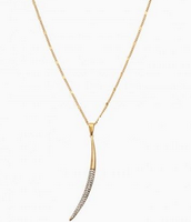 New Moon Necklace - $30