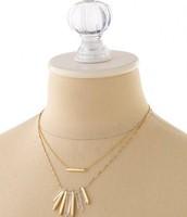 Rebel Cluster Necklace ($30)