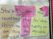 Wisdom discovered by 5th graders!