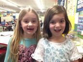 In 2nd Grade we are still losing teeth, left and right!