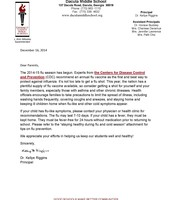 Flu Season information from Dr. Riggins