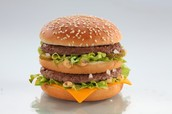 How can we educate people about the health risks of eating McDonald's food often?