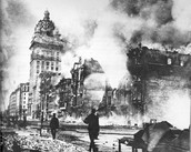 The 1906 earthquake is the largest earthquake that has ever occured in the U.S. Only lasted 60 seconds.