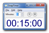 Set a timer to allow yourself movement breaks, but then remember you have to return to work when the timer goes off.