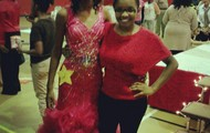 Me After My Pageant...with one of the Besties