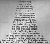 deprimido = depressed