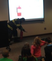 We learned about the Science behind fighting fires!