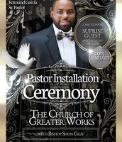 Installation Ceremony for Pastor Edmund Garcia