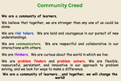 Community Creed