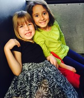 Najla (with Iris)