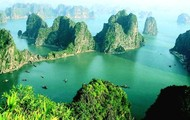 Over-view of Ha long Bay