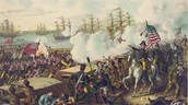 War of 1812 Battle Painting