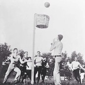 Worlds First Basketball game played in Springfield