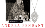 Andrea pendant necklace - NOW $40