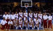 El Equipo de Baloncesto Puerto Rican.