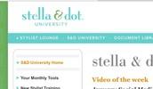 Stella & Dot University