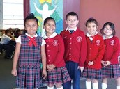 nuestros estudiantes  (our students)