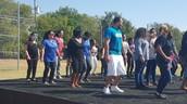 Dancing the Shuffle!