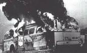 Burning Freedom Bus
