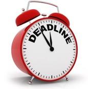 Upcoming Deadline