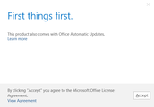 Step 6: First Things First (Outlook)