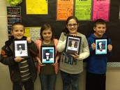 Students Using Thing Link To Create Biographies