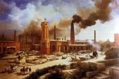 Intenso e rápido desenvolvemento industrial